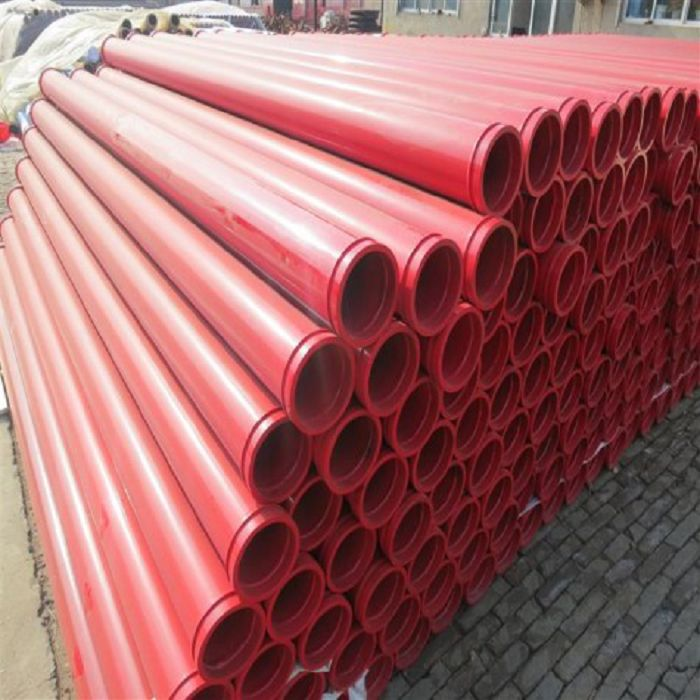 Putzmeister Schwing Quality ISO9001 ST52 Thickness 5.0mm Concrete Pump Delivery Pipe Line with 148MM SK Flange Life from 12,000m3